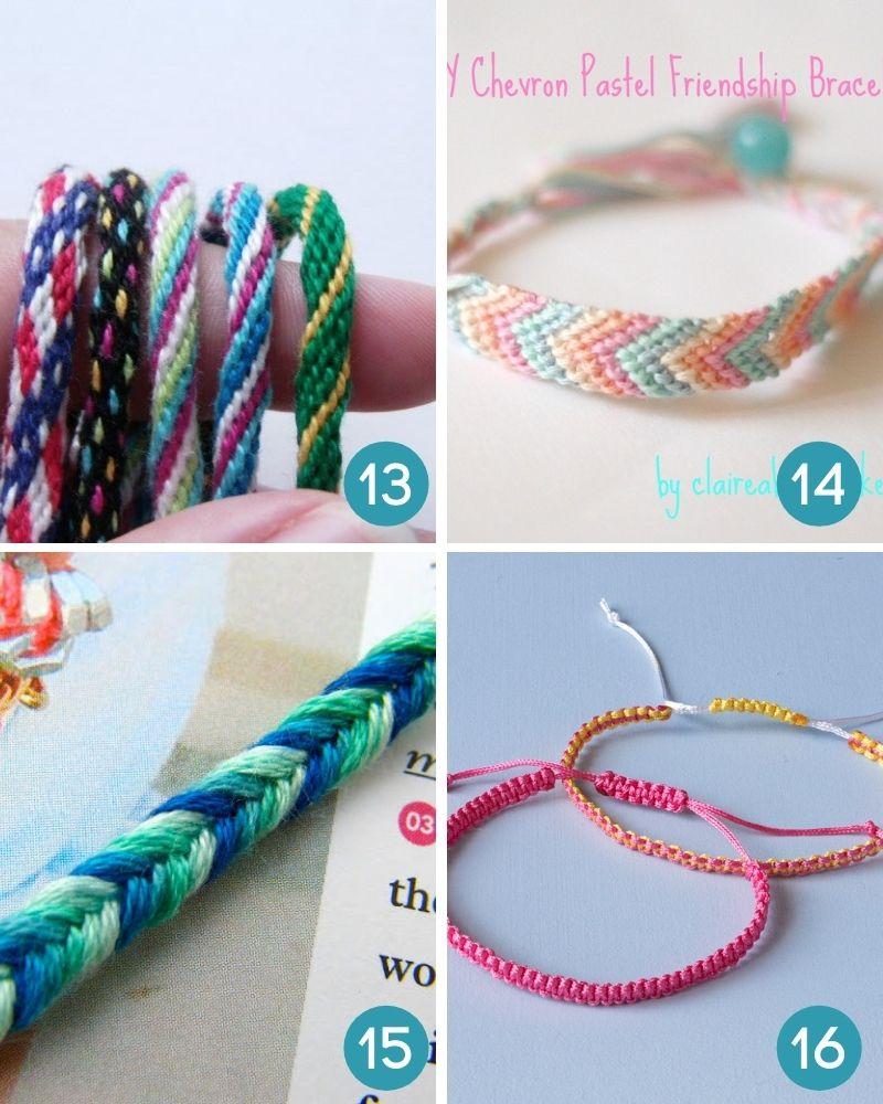 friendship bracelets easy patterns