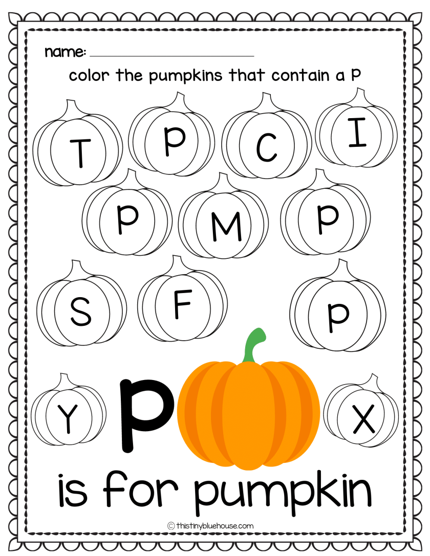 a to z worksheets with pictures