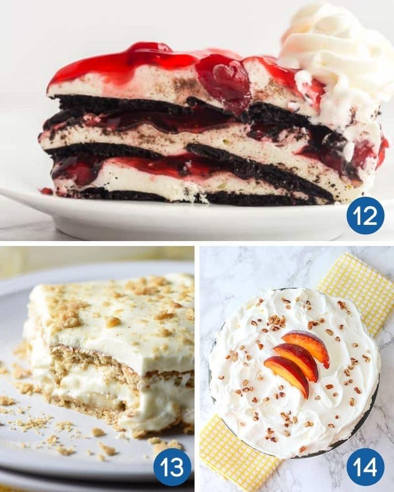 no bake icebox dessert recipes
