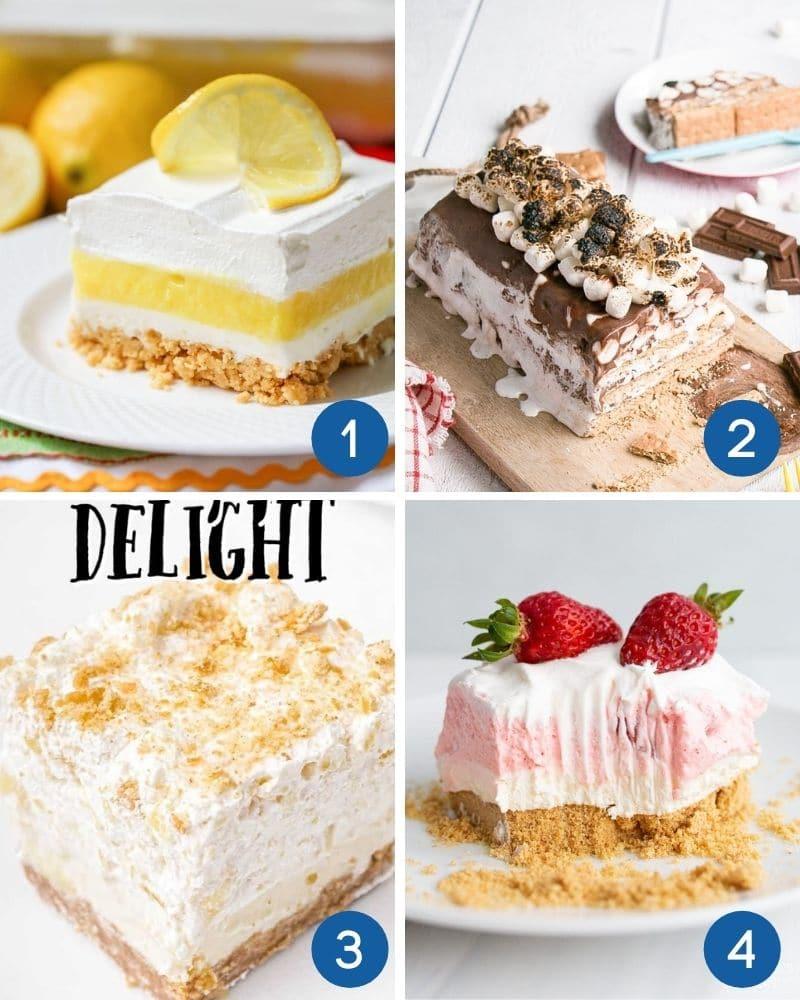 no bake summer desserts
