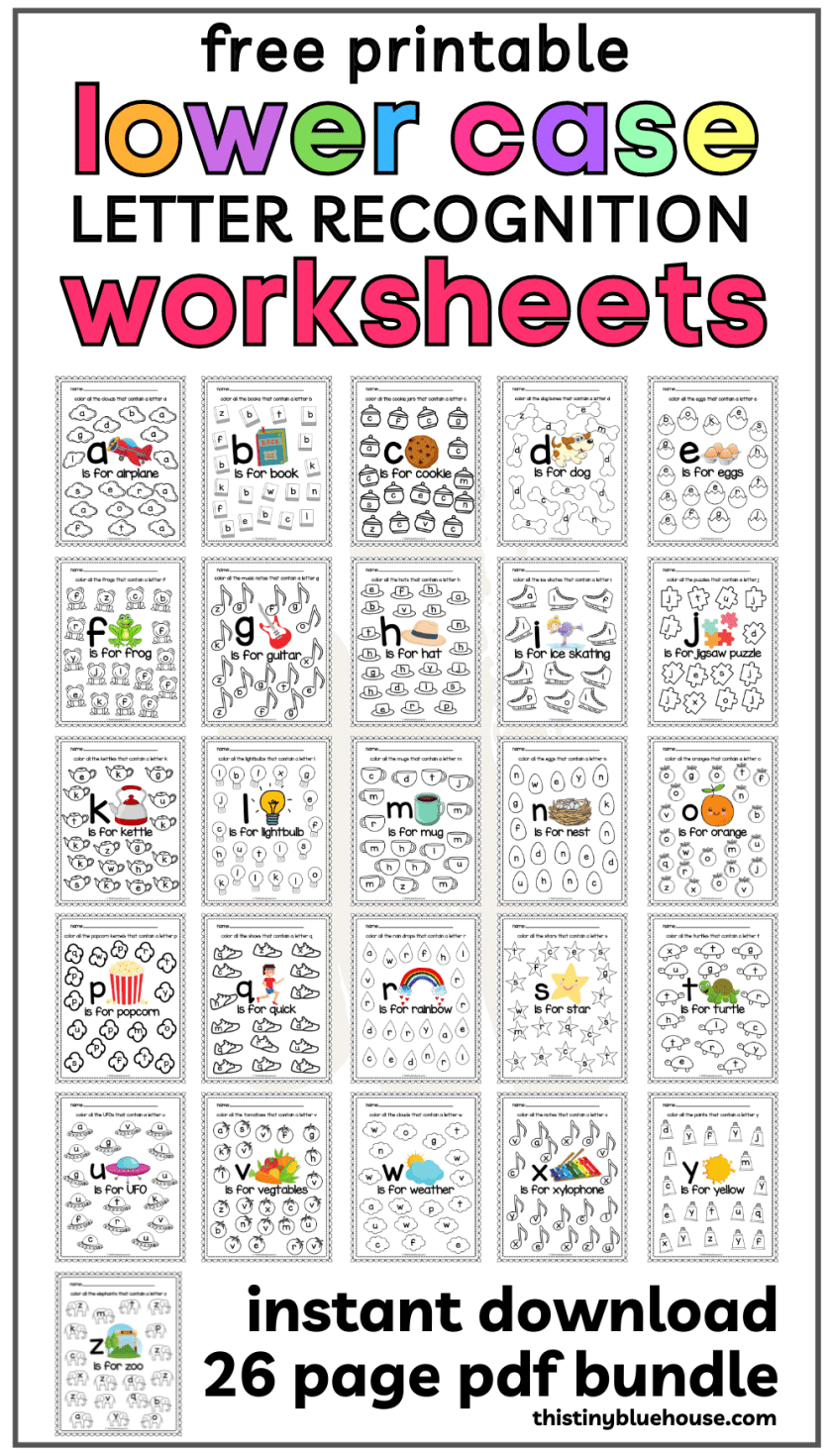 Free Printable Letter Practice Worksheets