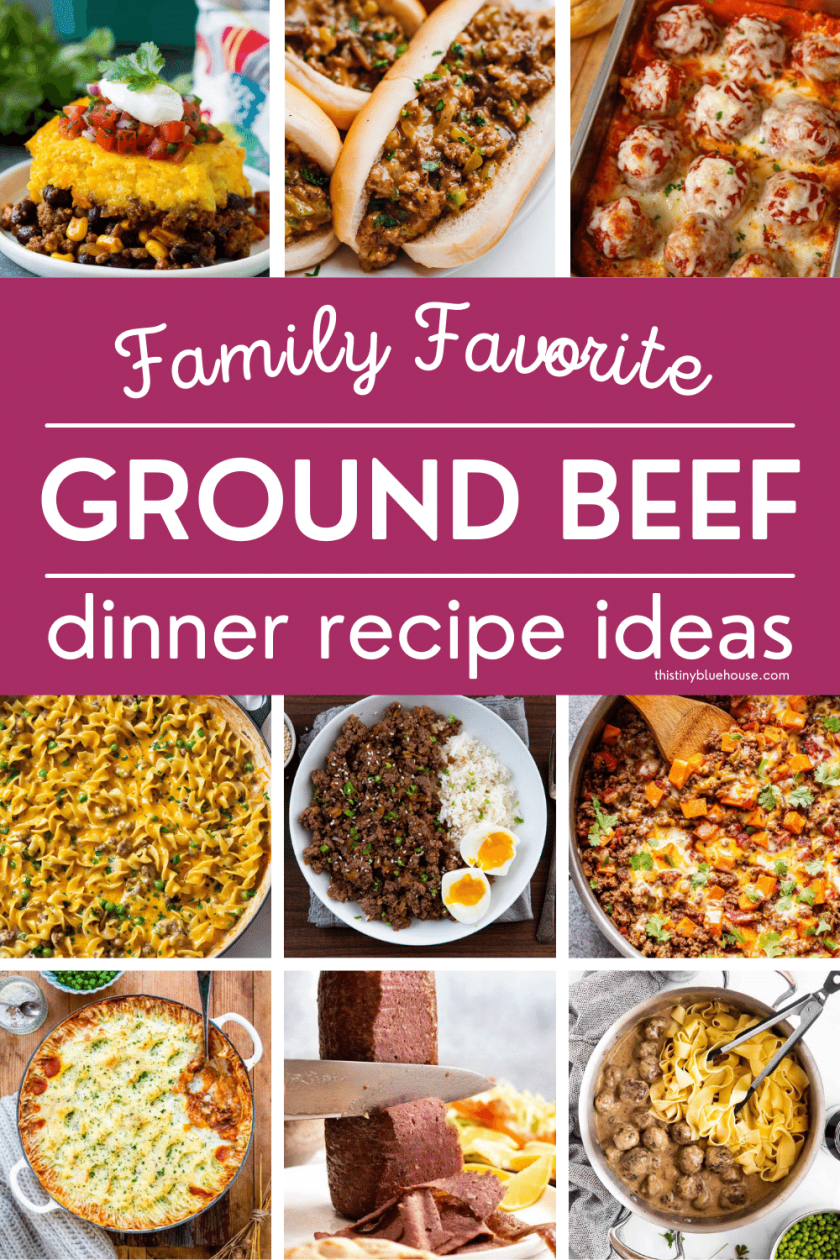 easy recipes for dinner with ground beef