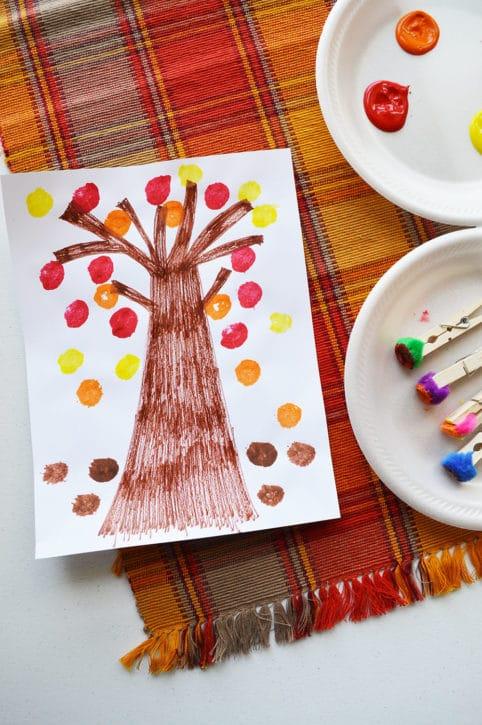 fall crafts for preschoolers