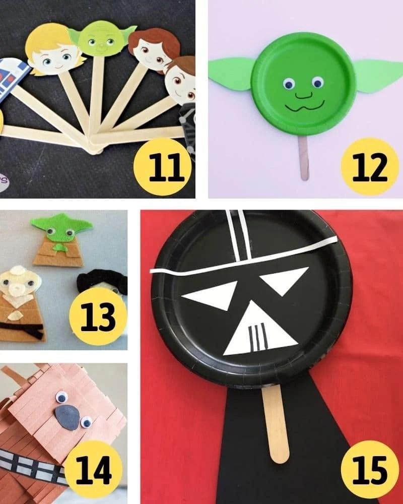 star wars puppet crafts