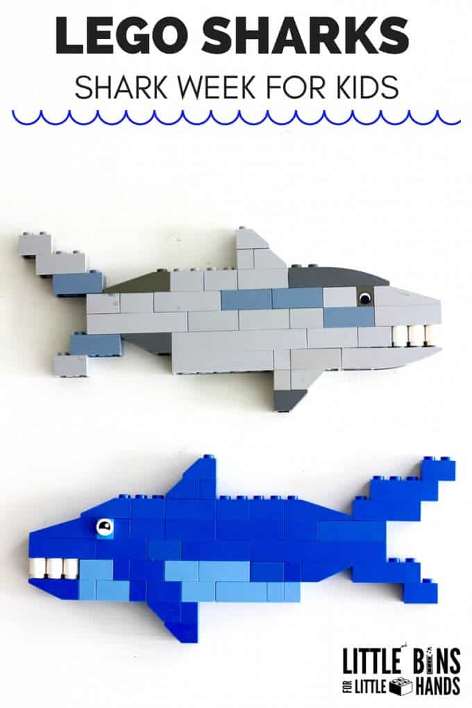 LEGO Shark Crafts