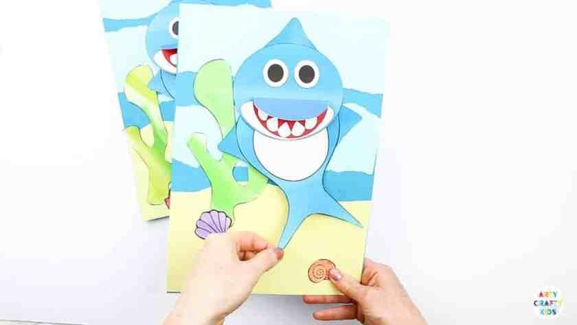 shark crafts for preschoolers