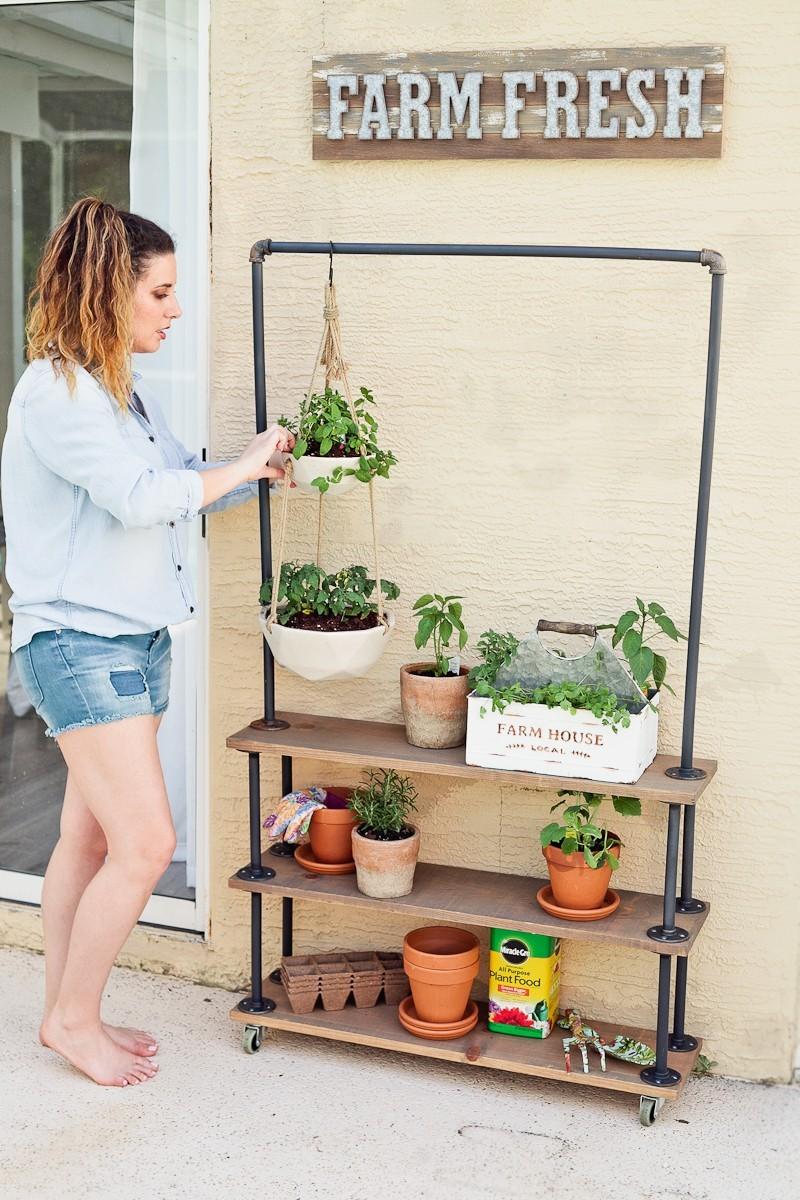 diy plant stand ideas