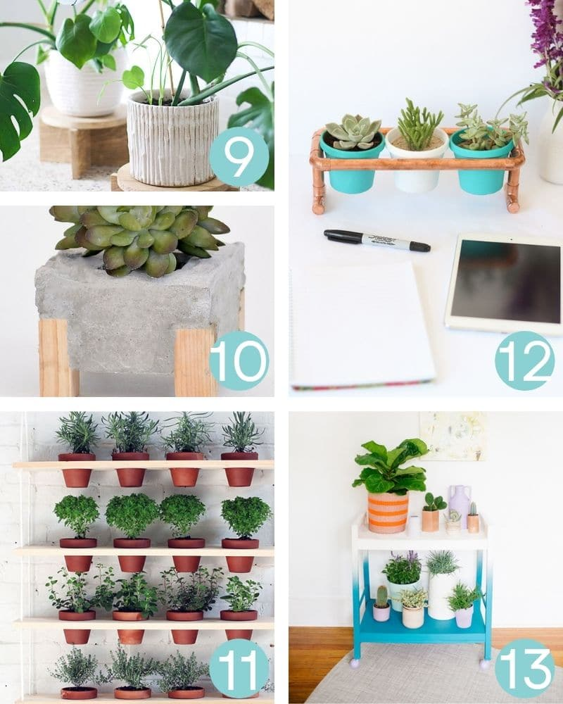 DIY Plant Stand Projects & ideas