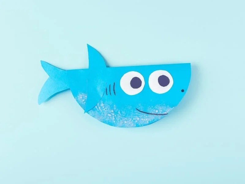 shark crafts for kids