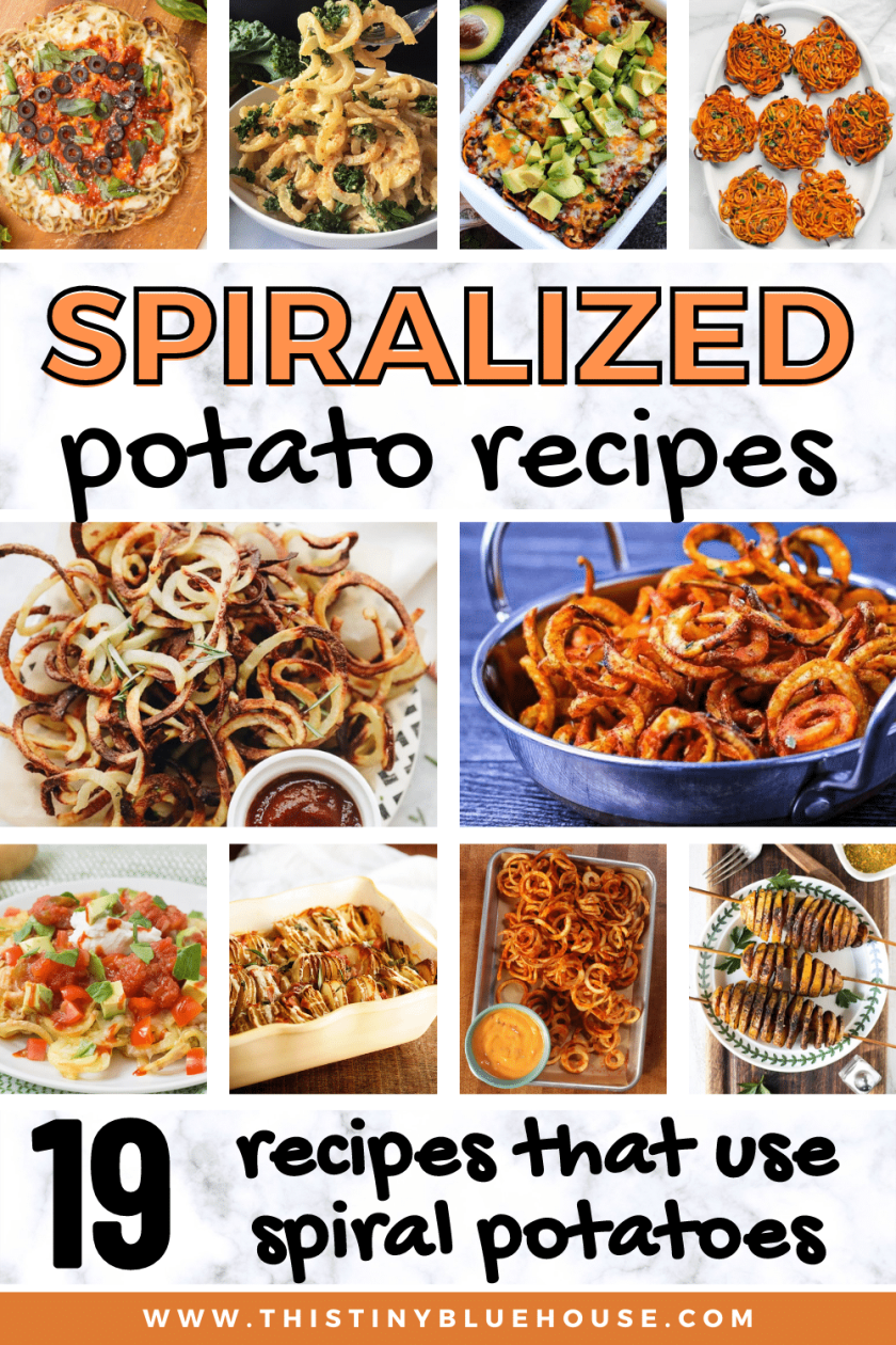19 Recipes Made With Spiralized Potatoes