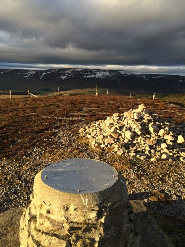 The top of Carn Daimh