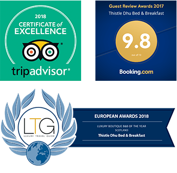 Awards - Trip Advisor / Bookings.com / Luxury Travel Guide