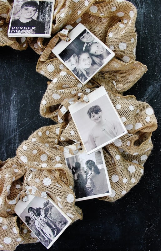 photos-on-a-burlap-wreath