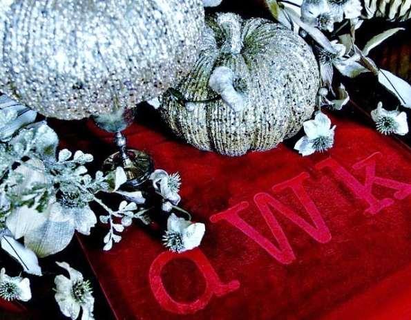 embossed velvet table runner diy-project-how-to