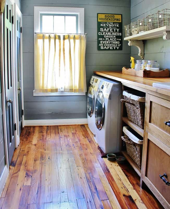6 laundry rooms that will blow your mind on paint for laundry room floor ideas images id=92665