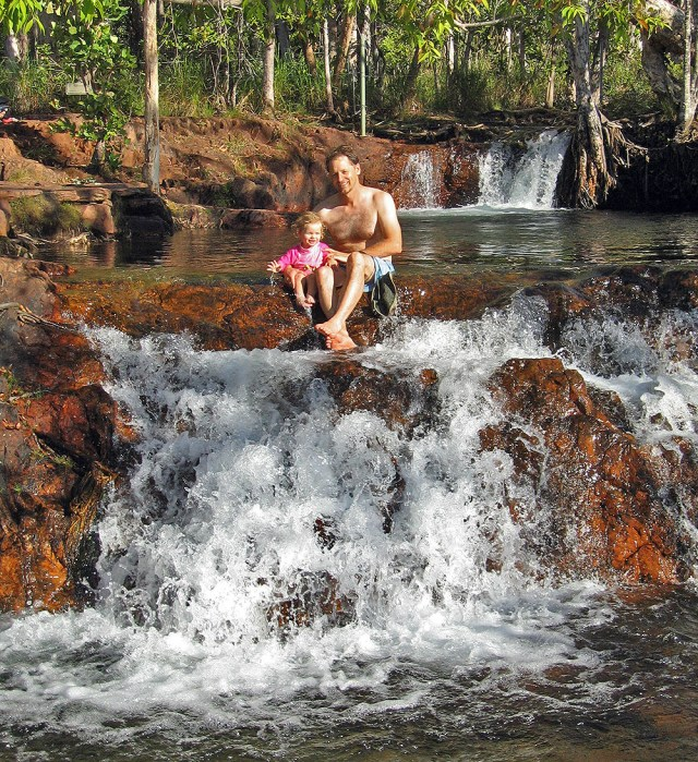 Buley Rockholes NT - Waterfalls
