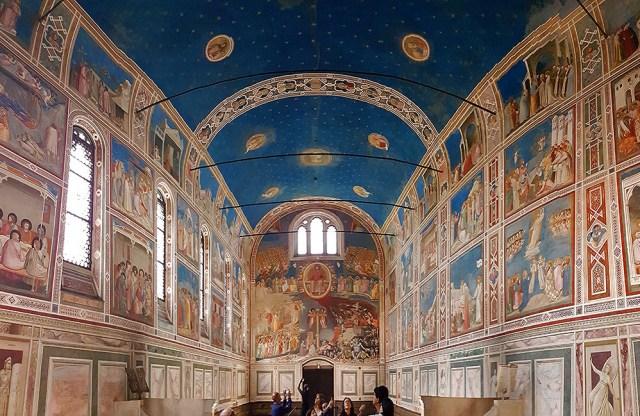 Scrovegni Chapel Padua Italy