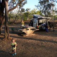 Campsite at Kakadu