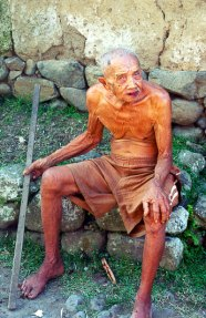 Old man in Bali