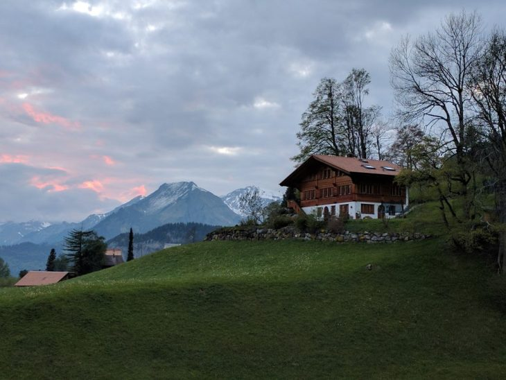 Our chalet in Hasliberg