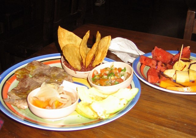 Meal in Honduras