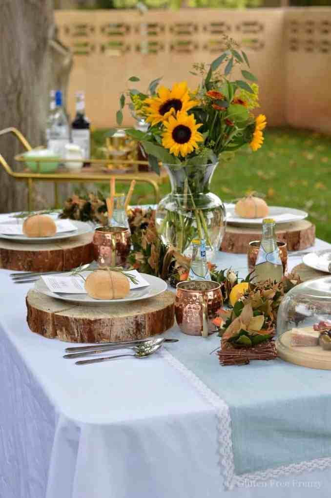 Rustic Italian Dinner Party and Gluten-Free Tiramisu