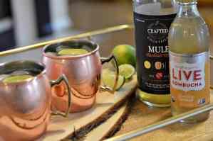 "Moscow Mule Mocktail or ""Mock""scow Mule"