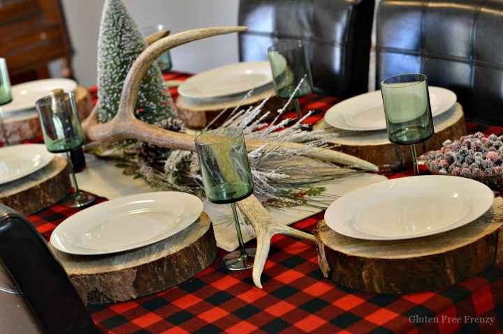 This flannel and flapjacks holiday party is full of rustic holiday fun! From the pancake decorated sugar cookies, gingerbread pancakes with sugared cranberries and flannel pj gift exchange, it has all the makings of a great holiday or Christmas girls party. | holiday party ideas | holiday party food | fun holiday parties | christmas parties | holiday parties for adults | themed holiday parties | christmas parties for adults || This Vivacious Life #holidayparties #christmaspartyideas
