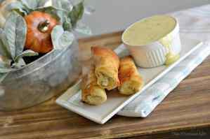 Turkey, Corn and Cream Cheese Fried Gluten-Free Flautas {Thanksgiving Leftovers}