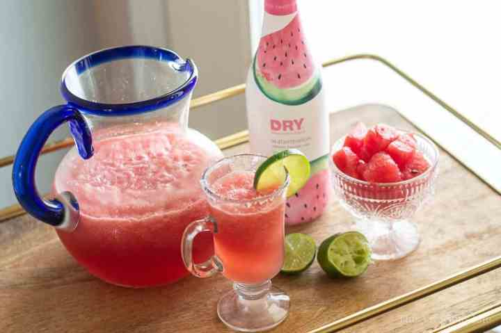 This watermelon mocktail is so refreshing and perfect for those hot summer days. It's so simple to make these delicious drinks and they are great for the whole family.