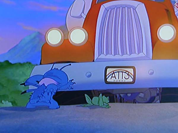 And then... in Lilo & Stitch.