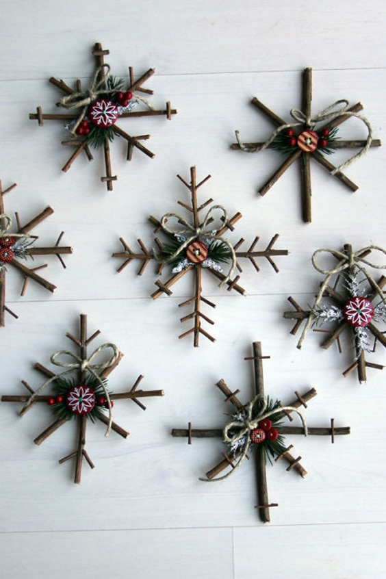 Craft Ideas For Christmas Ornaments Part - 42: DIY Christmas Ornaments, Christmas Ornament Craft Idea, Christmas Ornament