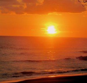 A Sunset on the Osa Peninsula