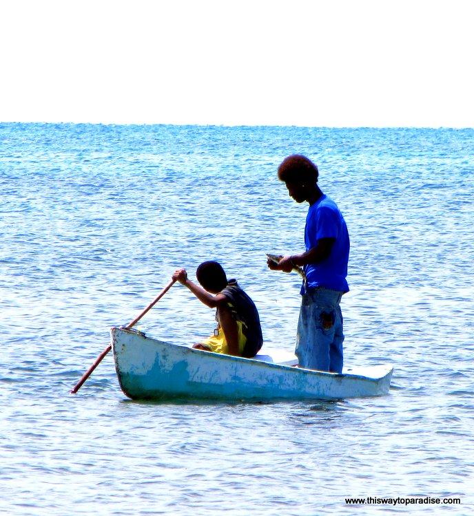 Caye Caulker fishermen