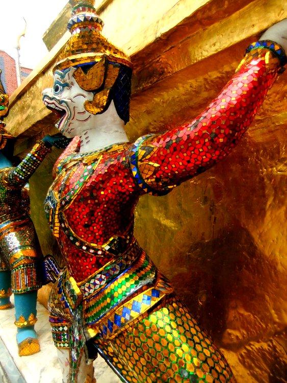 Thai temple figure