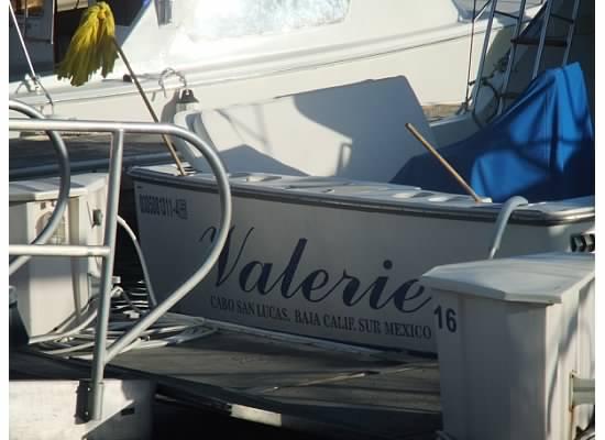 Valerie boat in Cabo San Lucas