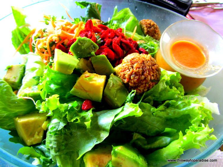 Salad From Alchemy, Ubud, Bali