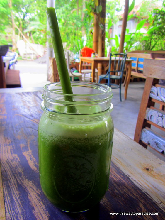 Green Juice from Alchemy Juice Bar, Ubud, Bali