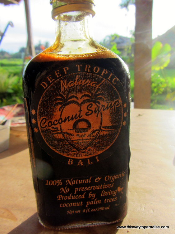 Coconut Syrup From Alchemy