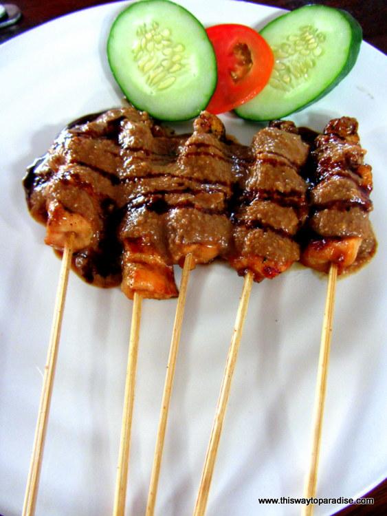 Chicken Sate, Ubud, Bali