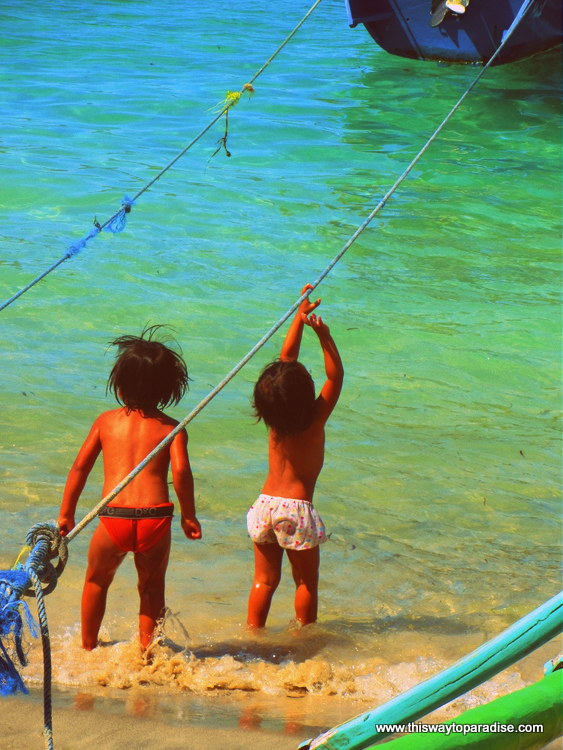 Gili Children, Gili Air, Gili Islands
