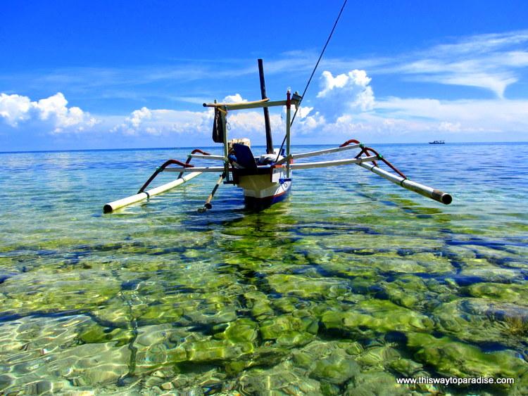 Boat on Gili Meno, Gili Islands