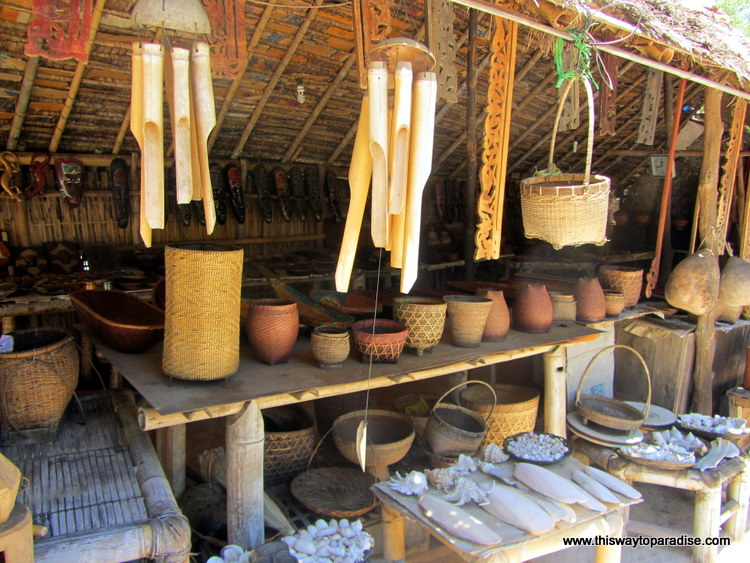 Handicrafts on Gili Meno, Gili Island
