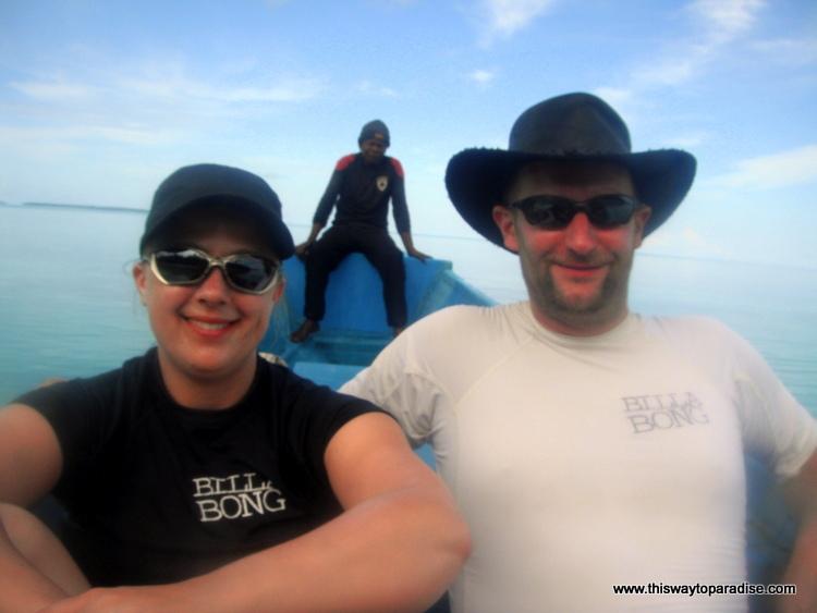 Kai Island on the boat
