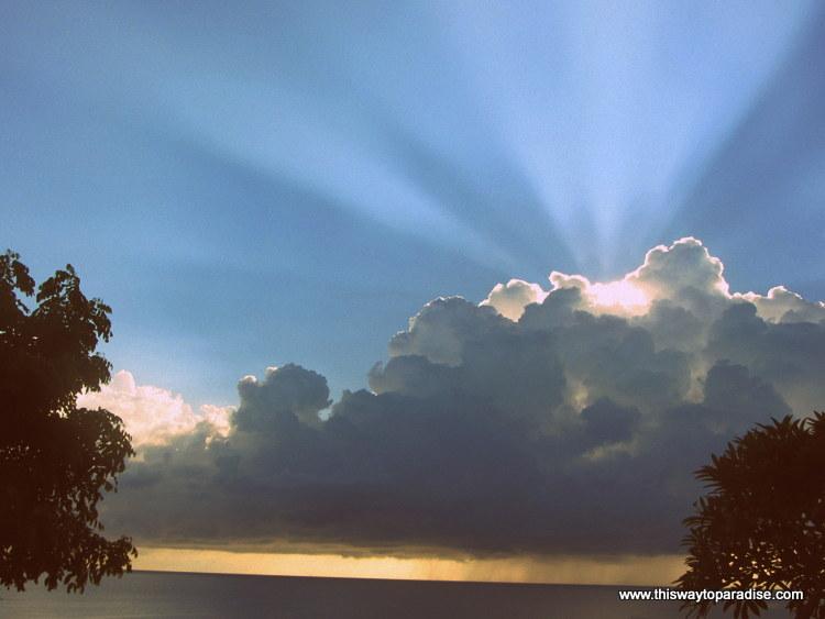 Sunrise in Amed, Bali