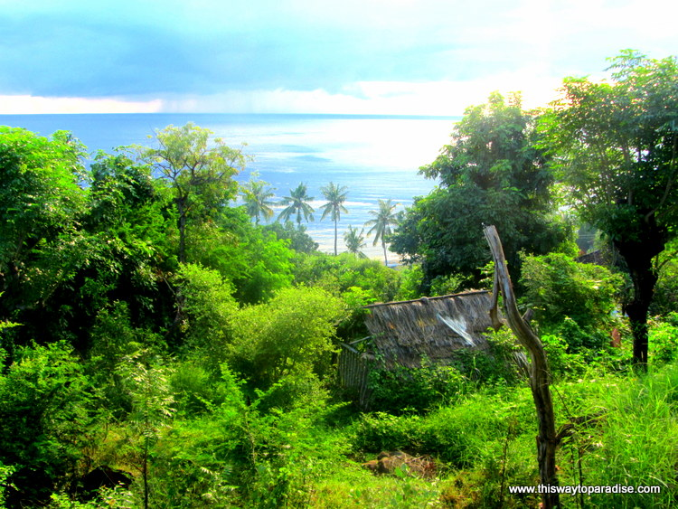 Ocean view in Amed,Bali