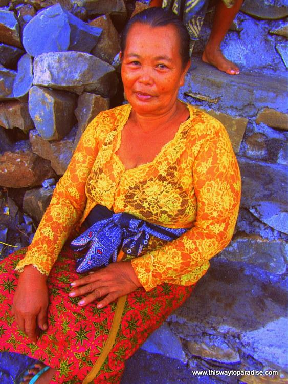 Woman in Amed, Bali