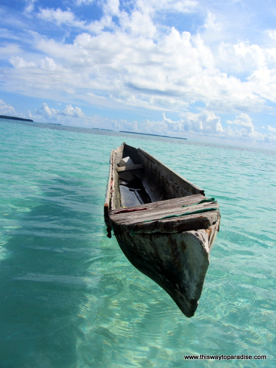Boat on the Kai Islands