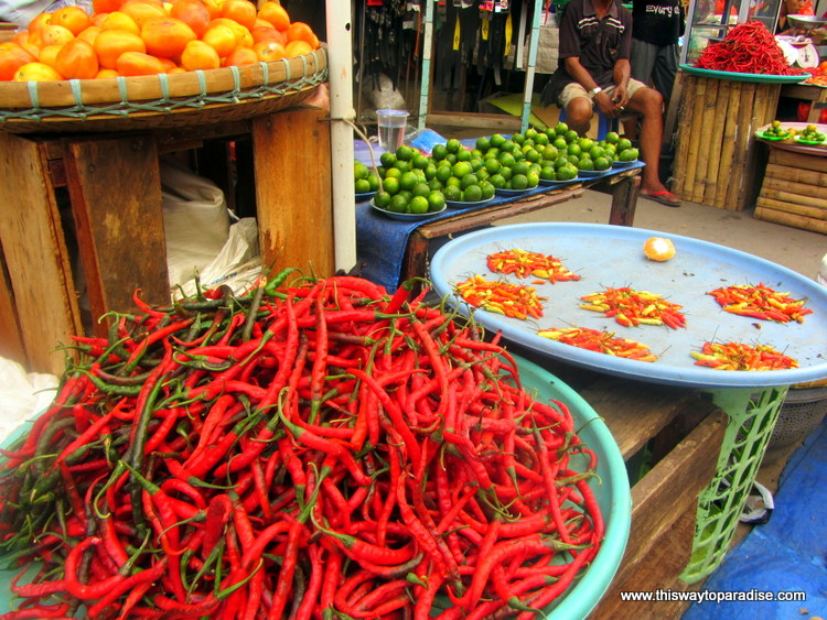Chilies at Ambon Market