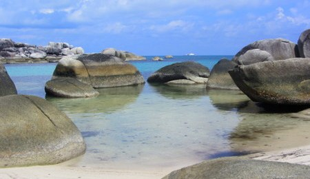The best beach in the world spellbound on belitung this for Top 1 beach in the world